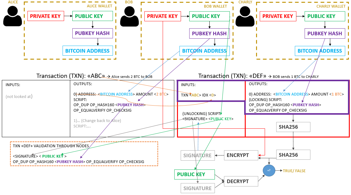 bitcoin live transactions