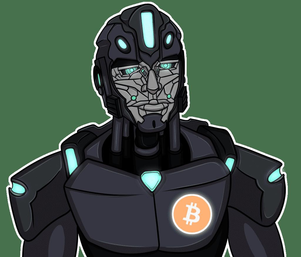 robot-bitcoin-symbol