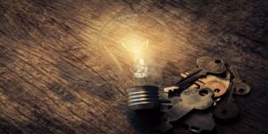 light-bulb-and-keys-on-table-seed-phrase
